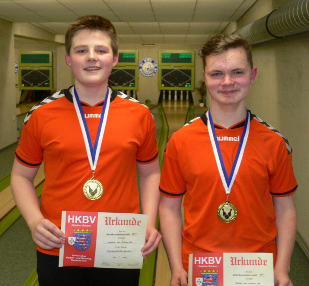 Erfolgreiche Bezirksjugendmeisterschaften 2017