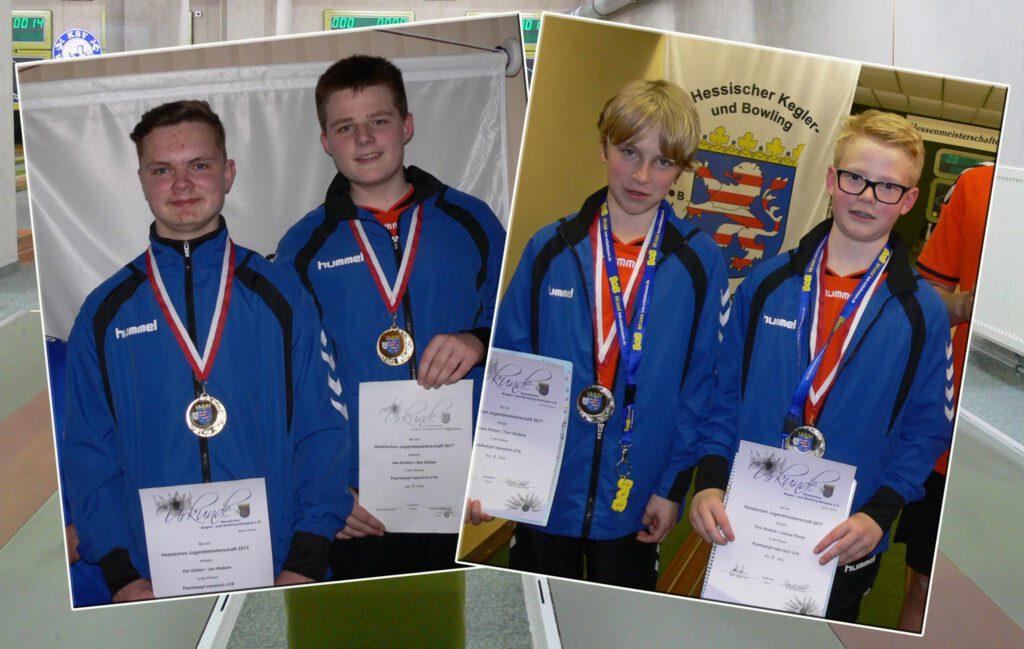 Noch eins drauf bei den Hessischen Jugendmeisterschaften 2017