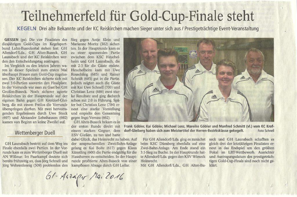 Teilnehmerfeld für Gold-Cup-Finale steht