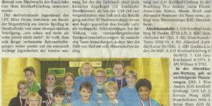 GH Krofdorf-Gleiberg stellt besten Nachwuchs